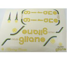 Early Gitane decal set complete yellow or green choice