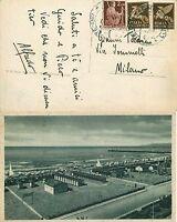 1257 - Regno, Repubblica - Affrancatura mista (Democratica + posta aerea)