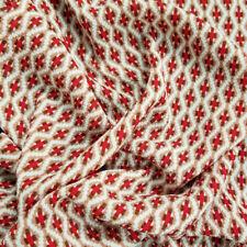 Cross Design Printed Crepe Chiffon Fabric - Style P-854-586