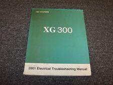 2001 Hyundai XG300 Electrical Wiring Diagram Troubleshooting Manual L 3.0L V6