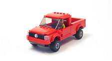 Lego Custom Red Pick Up Truck    City Town