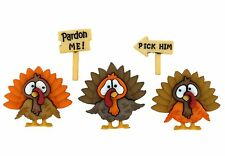 Jesse James Buttons - Dress It Up ~ Turkey Trot 8815 ~ Thanksgiving NEW! ~ Craft
