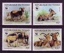 Tschad Michelnummer 1171 - 1174 postfrisch (WWF)