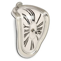 NEW! DALI INSPIRED MELTING TABLE/MANTLE CLOCK - PERSISTENCE OF MEMORY TIME WARP