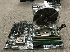 ASRock FM2A75 Pro4 AMD Gaming Motherboard + A8-5600K CPU 8GB DDR3 heatsink Fan