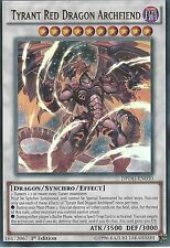 YU-GI-OH: TYRANT RED DRAGON ARCHFIEND - ULTRA RARE - DPDG-EN030 - 1ST EDITION
