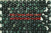 20Pcs RAINBOW !! NATURAL Cats Eye Obsidian QUARTZ CRYSTAL Sphere Ball RARE