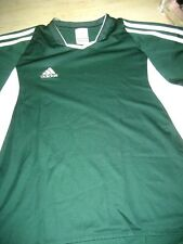 NEW Boys M Green ADIDAS Athletic Performance CLIMACOOL Top Shirt S/S Mesh Insets