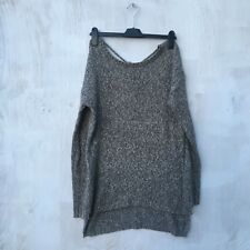 Pull and bear backless jumper in light knit