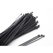 Plástico Ataduras De Cables de Nylon Negro Tamaño 2.5mm-100mm, paquete de 100