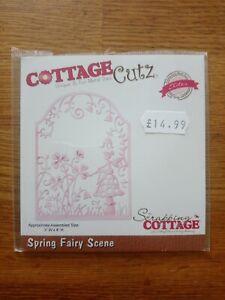 Cottage Cutz - Spring Fairy Scene - Die Cutter - CCE-221