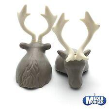 playmobil Barbares Vikings: 2 x Casque Tête de cerf Chapeau de fourrure Cornes