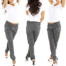 Pantalones de mujer chinos color principal gris