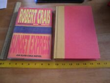 Robert Crais Sunset Express Elvis Cole 1st edition signed hardcover book