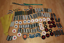 DDR NVA 125 Teile Abzeichen Effekten Patches Ware General Oberst Major LOOK