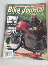 Bike journal Magazine BMW Boxers & Harleys September 1993 032517NONRH