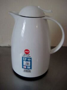EMSA AUBERGE Germany Quick Tip Thermos  Flask 1.0 Ltr. As NEW