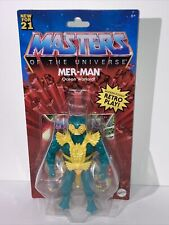 New ListingMattel Retro Play Masters Of The Universe Mer-Man New For 2021