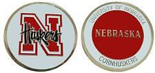 "University of Nebraska ""Cornhuskers"" Collectible Challenge Coin"