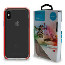 LifeProof Slam Drop Proof Stylish Sleek Tough Case for iPhone X Lava Chaser MP