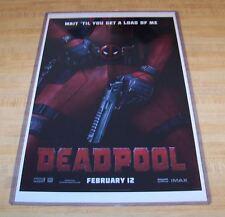 Deadpool Ryan Reynolds 11X17 Movie Poster Load Version