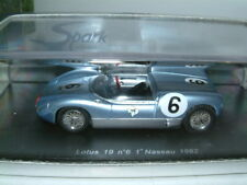 1/43 SPARK LOTUS 19 #6 INNES IRELAND 1962 NASSAU RACE WINNER