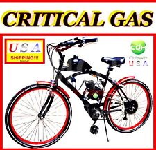Usa Seller New 2019 Complete Critical 50 80 Cc Gas Motor & 26 Bike Scooter Moped