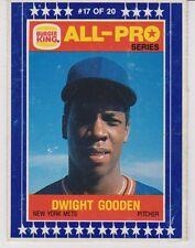 1986 Burger King All-Pro #17 Dwight Gooden