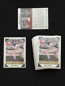 1991 LEAF BASEBALL CARD # 281 FRANK THOMAS Chicago White Sox * PACK FRESH MINT *