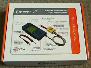 Hyperion Emeter 2 + RDU, LDU, MDU modules, test, record, monitor R/C Models NEW
