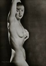 1929/75 Vintage MAN RAY Female Nude SUZY SOLIDOR Art Deco Photo Engraving 12x16