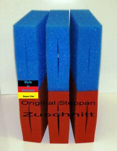 6 x Filter Schwamm Ersatzschwamm geschlitzt passend für Oase Biotec 5+10+30 Koi