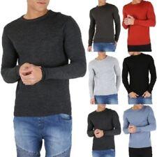 Camisas y polos de hombre de manga larga sin marca
