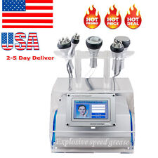 5 in 1 Cavitation Bipolar Radio Frequency RF Vacuum Fat Burning Fitness Machine