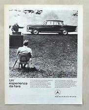 E301-Advertising Pubblicità-1963 - MERCEDES-BENZ