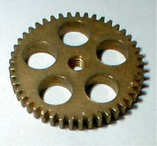 45 Tooth Wide BRASS SPUR GEAR 1960's Vintage Classic Ind #3216 Slot Car Parts