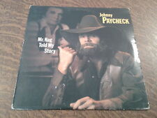 33 tours johnny paycheck mr. hag told my story