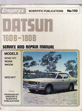 DATSUN 160B - 180B SERVICE & REPAIR WORKSHP  MANUAL  1972 - 77