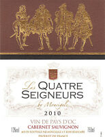 Tag Wine - Wine Label - The Four Lords of Moncigale - 2010