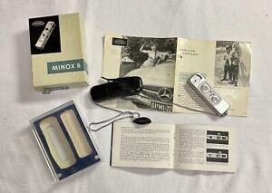 Minox B Miniaturkamera, OVP
