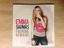 CD SINGLE 2 TITRES / EMMA DAUMAS / FIGURINE HUMAINE / NEUF SOUS CELLO