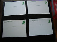 FRANCE - 4 cartes entier 1982/1988 (liberte) (cy48) french