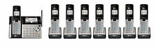 AT&T TL96423 DECT 6.0 Connect to Cell BLUETOOTH 8 Handset Cordless Phone System