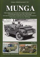 Tankograd 5055: Munga, Geländewagen der Bundeswehr (BW/DKW/Auto-Union/Modellbau)