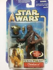 Star Wars Empire Strikes Back Chewbacca Cloud City Capture with Electronic C-3P0