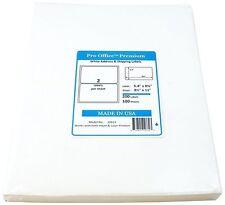 Pro Office Premium 200 Round Corner Self Adhesive Label