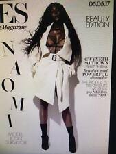 NAOMI CAMPBELL Photo Cover 2 interview London ES MAGAZINE May 2017