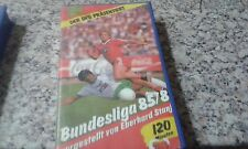 GERMAN BUDESLIGA 85-86 VIDEO CASSETTE VHS BILD ALMANAC