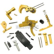 ACW TiN Lower Parts Kit Titanium-Nitride Premium Quality Upgrade Gold 5.56/223