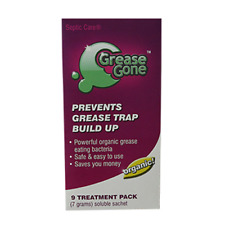 Grease Gone® 9-Pack - Grease Trap Treatment Product